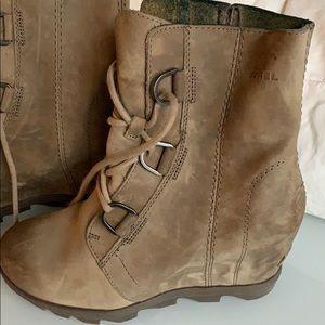 Sorel Women Joan Of Arctic II Wedge Boot Ash